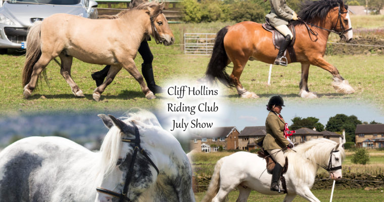 Cliff Hollins Riding Club- June Show