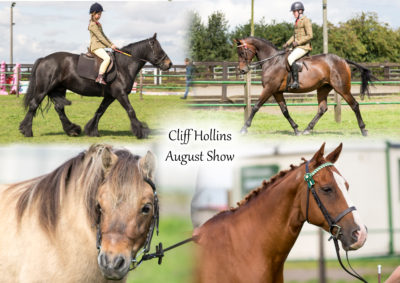 Cliff Hollins Riding School Show- August