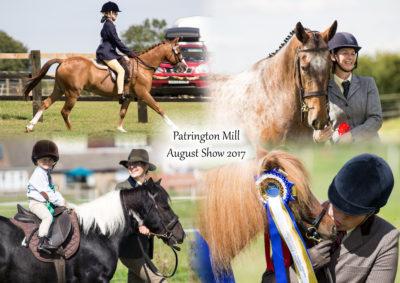Patrington Mill Summer Shows – August